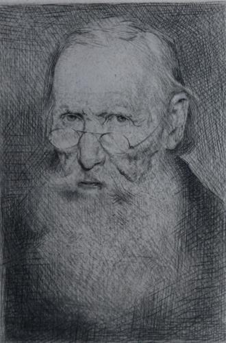 Alter bärtiger Mann