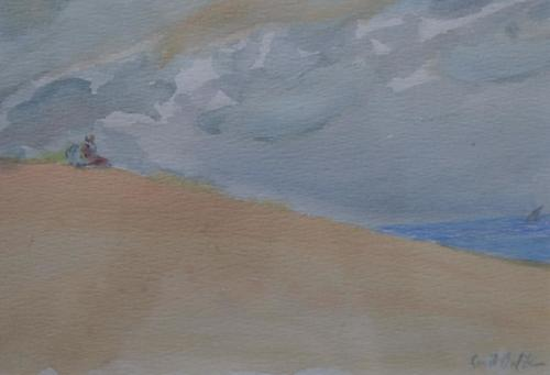 Araber auf Sanddüne